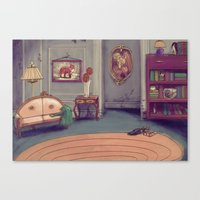 shabby chic Canvas Prints featuring Shabby Chic by Ben Geiger