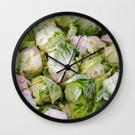 Iceberg Lettuce Wall Clock
