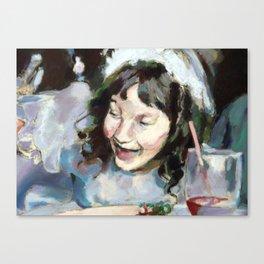 Exuberance Study Canvas Print