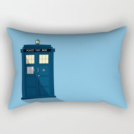 The TARDIS Rectangular Pillow