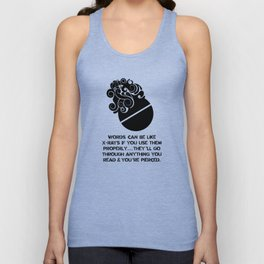 Brave New World - Aldous Huxley Unisex Tank Top