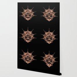 Copper Frog Ink Wallpaper