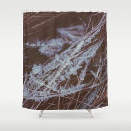 autumn breathes with winter Shower Curtain