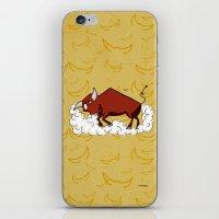 taurus iPhone & iPod Skins featuring Taurus by Giuseppe Lentini