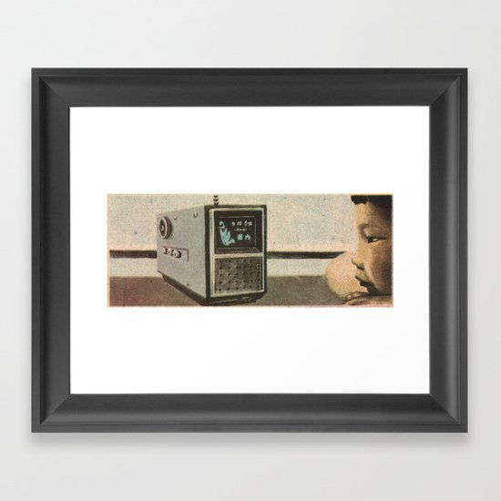 Broadcast Framed Art Print