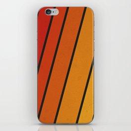 Retro 70s Stripes iPhone Skin