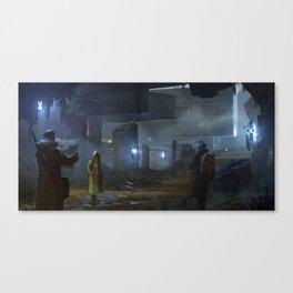 Ruin Hunters Canvas Print