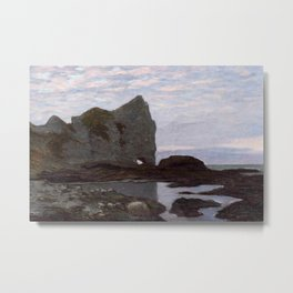 Claude Monet - Étretat Metal Print