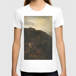 Rembrandt - Tobias and the Angel in a Landscape T-shirt