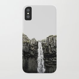 Svartifoss Waterfall Iceland iPhone Case
