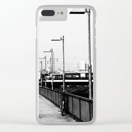 S-Bahn to Berlin Clear iPhone Case