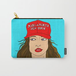 Make America New York, Anti-Trump Illustration Carry-All Pouch