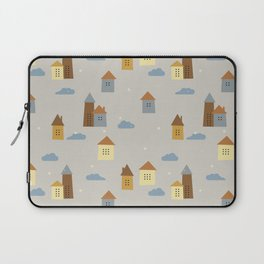 Small Houses Laptop Sleeve