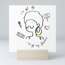 I've Got Life Mini Art Print