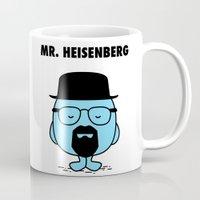 heisenberg Mugs featuring Heisenberg by Krikoui