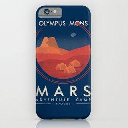 Mars adventure camp iPhone Case