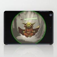 yoda iPad Cases featuring Yoda by Marc Vuletich