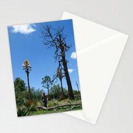 hiking men Stationery Cards