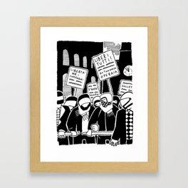 7 aprile 1979 Framed Art Print