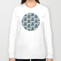 doors Long Sleeve T-shirts featuring Closed Doors by Phil Perkins