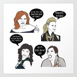 OG Jersey Girls Art Print