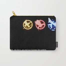 Mockingjay Quote No. 2 Carry-All Pouch