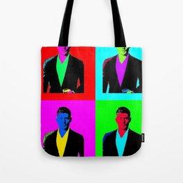 Jensen Ackles Pop Art Tote Bag