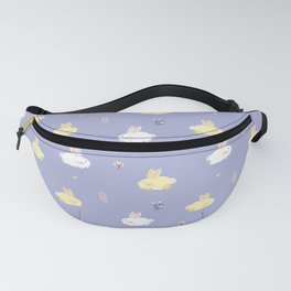 Cute calm bunnies pattern Fanny Pack