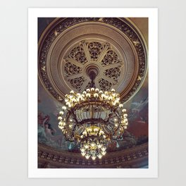 Victorian Painted Ceiling Art Print