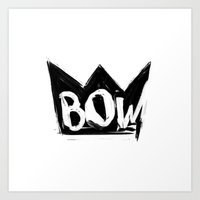 bow Art Prints featuring Bow by Matt Smiroldo