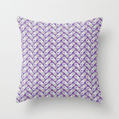 SNES On Repeat : True Colors Throw Pillow