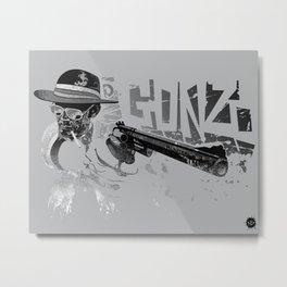 Dr Gonzo Metal Print