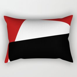 Contemporary art Rectangular Pillow