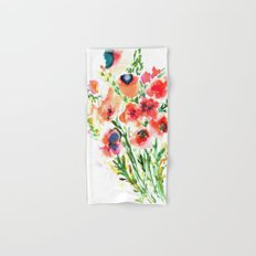 Bouquet Red Hand & Bath Towel