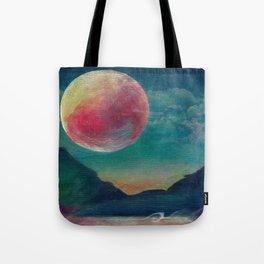 On The Nature Of Moonlight Tote Bag