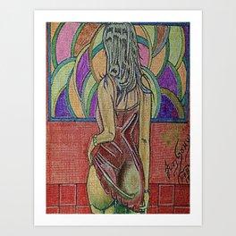 LA ESPERA 2 Art Print