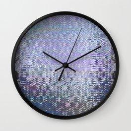 Glytch 01 Wall Clock