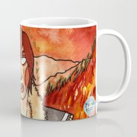 borderlands Mugs featuring Lilith from Borderlands by Jazmine Phillips