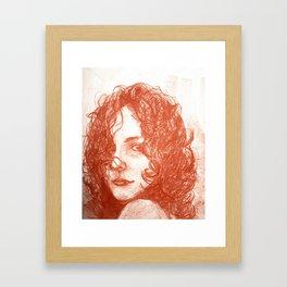 Look at for me Framed Art Print