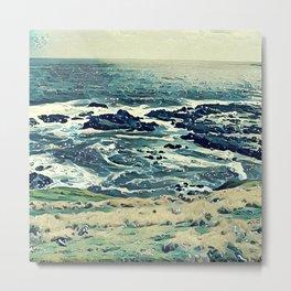 Coast of Australia Metal Print