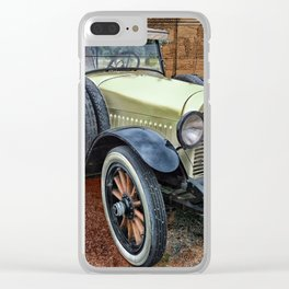 Antique 1921 Hudson Clear iPhone Case