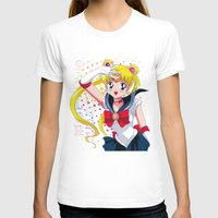 sailor moon T-shirts featuring Sailor Moon  by Neo Crystal Tokyo