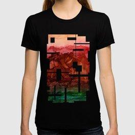 Red Landscape T-shirt