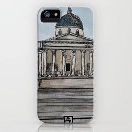 Urban Sketch - London Museum iPhone Case