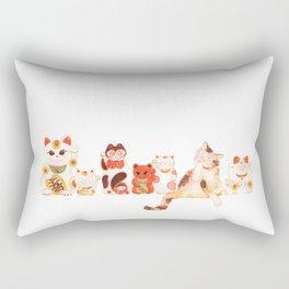Maneki Neko Rectangular Pillow