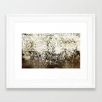 batik Framed Art Prints featuring BATIK by ED design for fun