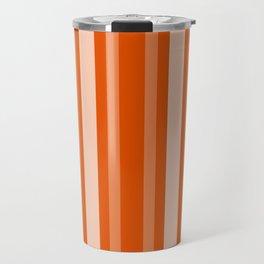 Persimmon Victorian Lady Stripe Travel Mug