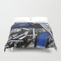 harley Duvet Covers featuring Harley by Veronica Ventress