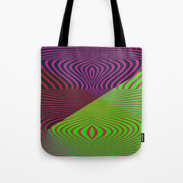 Playing with optic .. Tote Bag