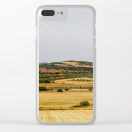 Andalusian Hills Clear iPhone Case